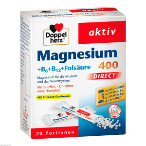 Doppelherz Magnesium + B Vitamine direct